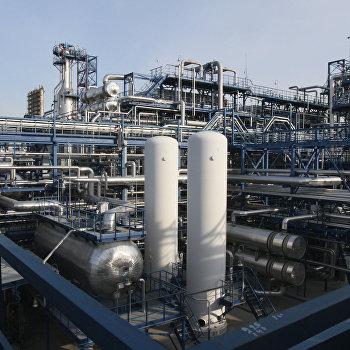 Работа Омского НПЗ Газпром нефти