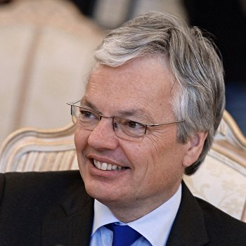 Встреча глав МИД РФ и Бельгии С.Лаврова с Д.Рейндерса