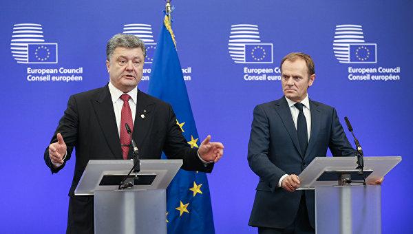 Порошенко уверен, чтоЕС предоставит Украине безвизовый режим
