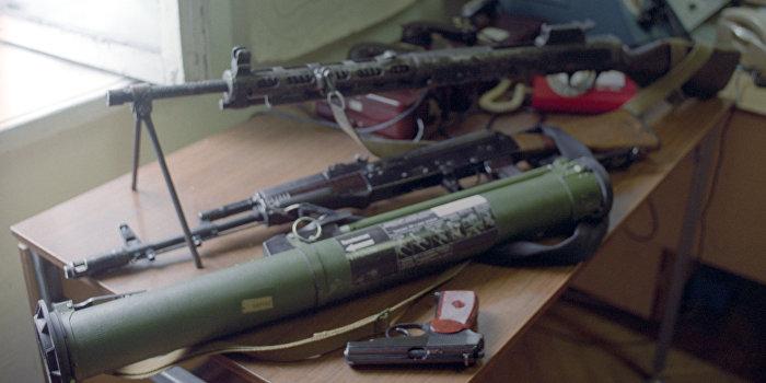 Оружие, конфискованное во время Осетино-ингушского конфликта