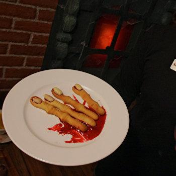 Специальное меню к празднованию Хэллоуина представлено в одном из московских ресторанов