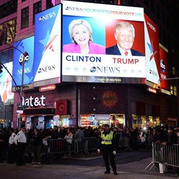 Предварительные итоги голосования на выборах президента США
