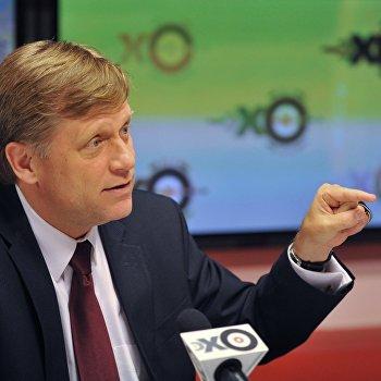 Посол США в России Майкл Макфол в прямом эфире радиостанции Эхо Москвы