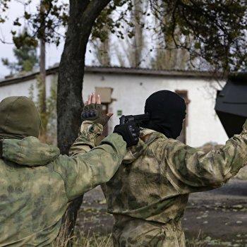 Показательные выступления пограничной службы в Крыму