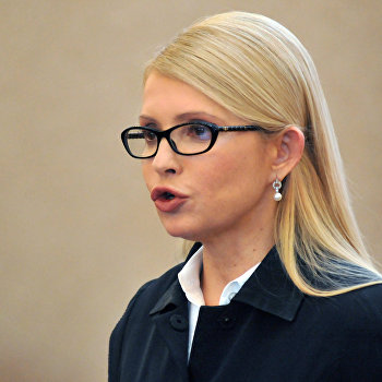 Пресс-конференция Юлии Тимошенко во Львове