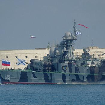 Репетиция парада ко Дню ВМФ в Севастополе