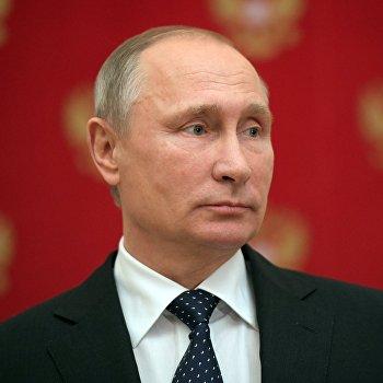 Президент РФ В.Путин ответил на вопросы журналистов