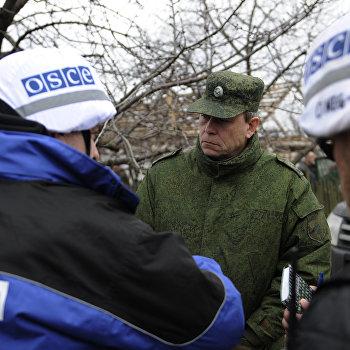 Последствия обстрела села Николаевка