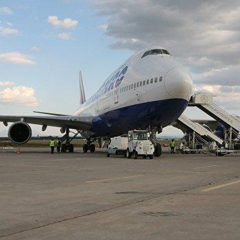 Начало эксплуатации широкофезюляжных самолетов на маршруте Москва-Симферополь