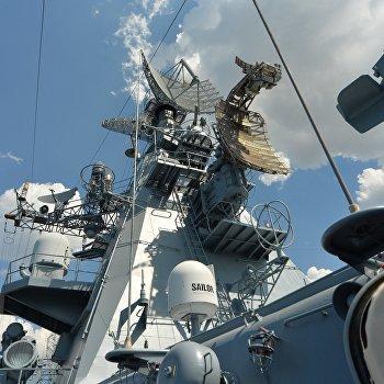 Гвардейский ракетный крейсер Москва Черноморского Флота РФ