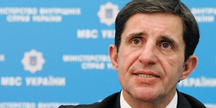 Брифинг советника министра внутренних дел Украины З.Шкиряка