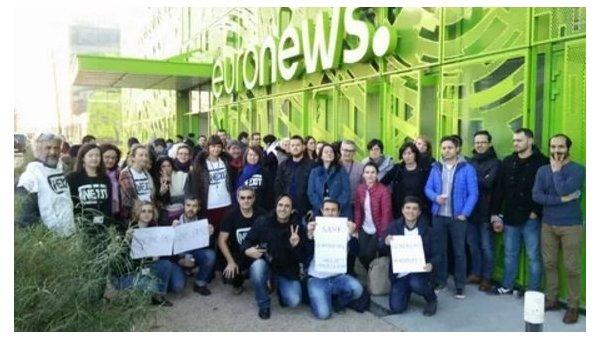 Корреспонденты Euronews вышли назабастовку из-за планов закрыть украинскую редакцию
