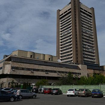 Здание Киевского телецентра.