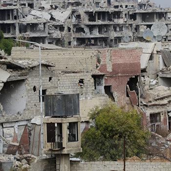 Ситуация в Дамаске в районе Джобар