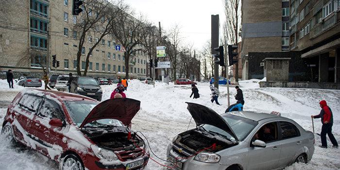 Киев накроет метель