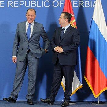 Визит главы МИД РФ С. Лаврова в Сербию