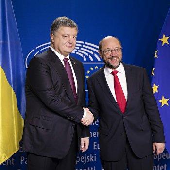 Президент Украины П. Порошенко в Брюсселе