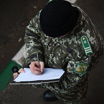 Шестнадцатый гуманитарный конвой для жителей юго-востока Украины прибыл на КПП Донецк