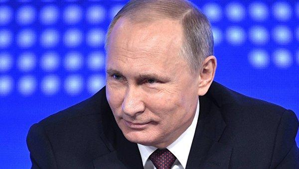Путин: РФ наданный момент самая сильная военная страна вмире