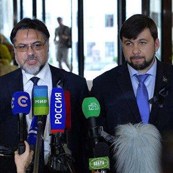 Завершилась встреча трёхсторонней контактной группы в Минске