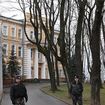 Взрывное устройство сработало у здания КГБ Белоруссии в Витебске