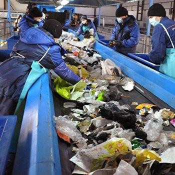 Первый в Забайкалье мусоросортировочный завод запущен в эксплуатацию в Чите