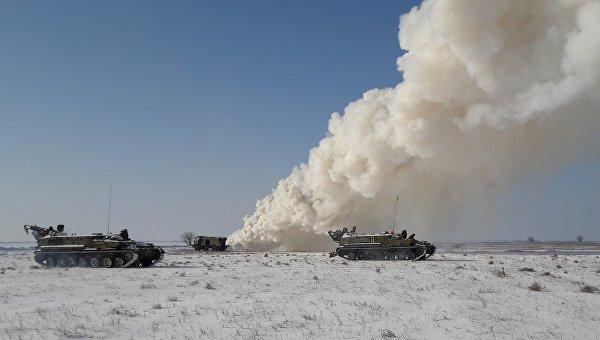 Украинские военные провели учения вблизи Крыма