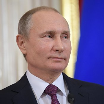 Встреча президента РФ В. Путина с президентом Молдовы И. Додоном