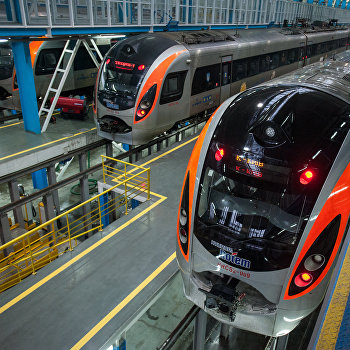 Обслуживание скоростных поездов Hyundai, купленных к Евро-2012