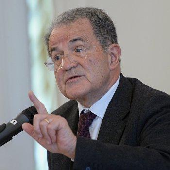 Лекция бывшего председателя Совета министров Италии Романо Проди