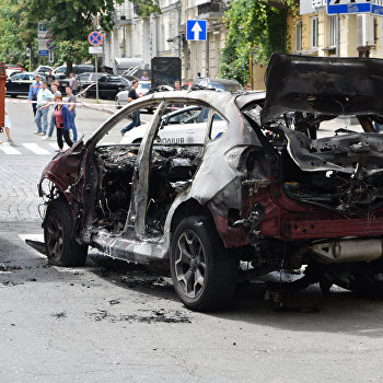 Журналист Павел Шеремет погиб в результате взрыва автомобиля в Киеве
