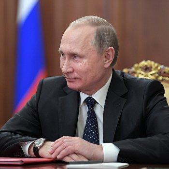 Президент РФ В. Путин встретился с Асланом Тхакушиновым и Муратом Кумпиловым