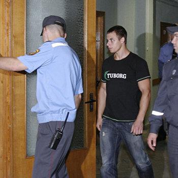 Задержанные в ходе акции Революция через социальную сеть в Минске