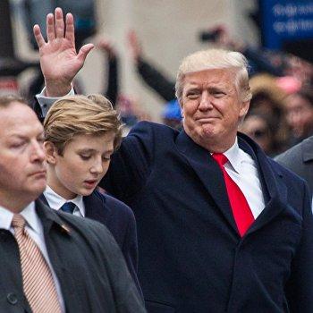 Парад в честь инаугурации президента США Д. Трампа в Вашингтоне