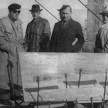 Микола Лебедь и курсанты английской разведшколы перед заброской в Советский Союз