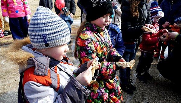 Масленица в Донецке