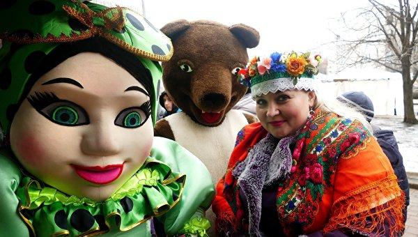 Ярмарка Большая Масленица 2017 в Донецке