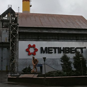 Енакиевский металлургический завод остановил свою работу в Донецкой области