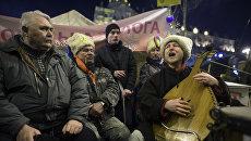 """""""Народное вече"""" на площади Независимости в Киеве"""