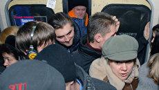 «Трамбовщики» в киевском метрополитене