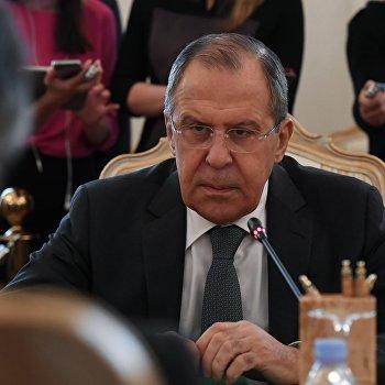 Встреча глав МИД России и Германии С. Лаврова и З.Габриэля