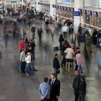 Здание Курского вокзала Москвы открылось после реконструкции
