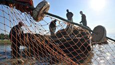 Лов рыбы в Астраханской области