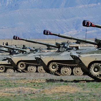 Учения войск ЮВО в Республике Дагестан