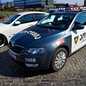 В Тбилиси прошла акция протеста автовладельцев