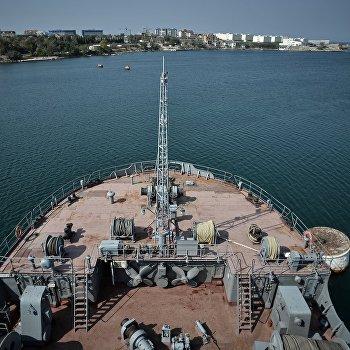 Спасательное судно Коммуна Черноморского Флота РФ