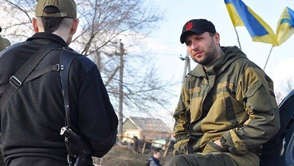 Турчинов объявил оперекрытии всех грузовых перевозок вДНР иЛНР
