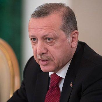Президент РФ В. Путин принял участие в заседании Совета сотрудничества высшего уровня между РФ и Турцией
