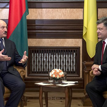 Встреча Петра Порошенко и Александра Лукашенко