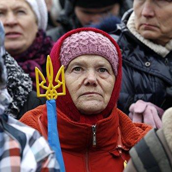 Всеукраинское Вече народа Украины на Майдане